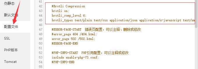 折腾记录-宝塔启用Brotli压缩算法教程